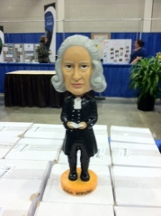 John Wesley bobble head, LOL